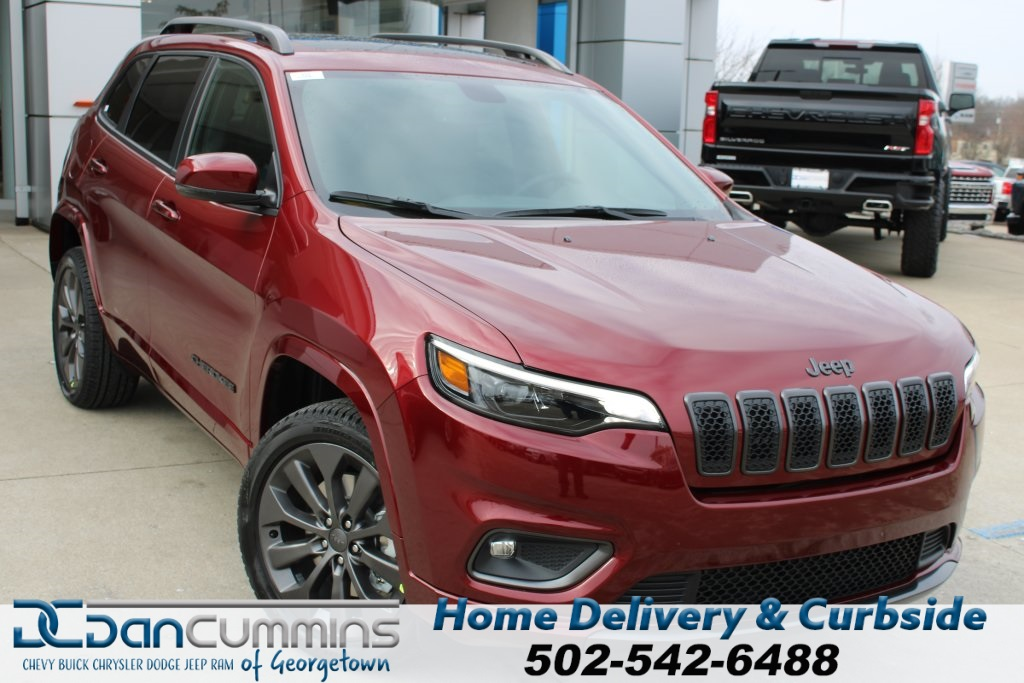 New 2020 JEEP Cherokee High Altitude 4x4 Sport Utility